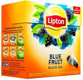 Чай Lipton Blue Fruit Tea 20 пак *1,8 г